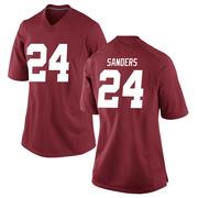 Game Women's Trey Sanders Alabama Crimson Tide Crimson Football College Jersey