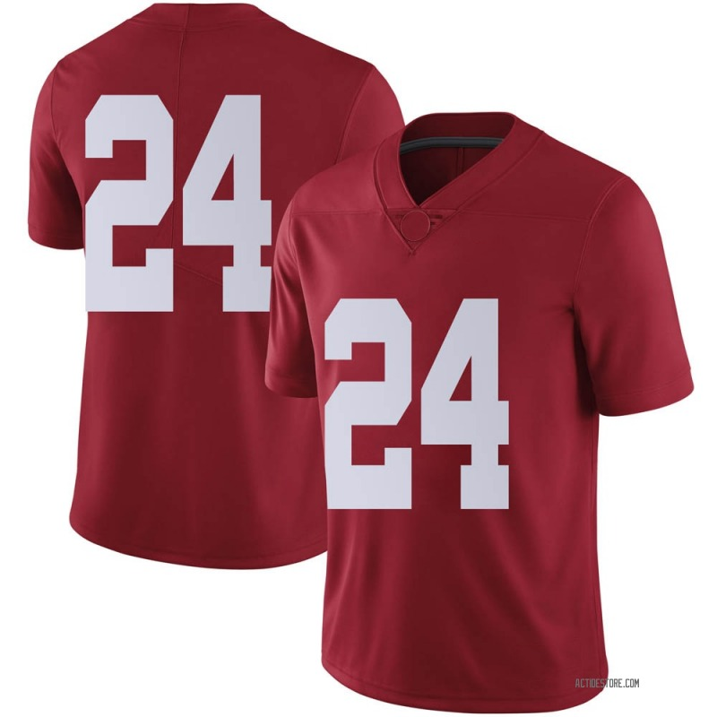 Limited Men's Trey Sanders Alabama Crimson Tide Crimson Football College Jersey