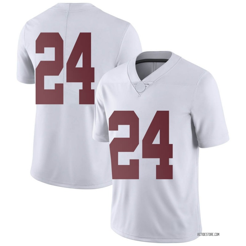 Limited Men's Trey Sanders Alabama Crimson Tide White Football College Jersey