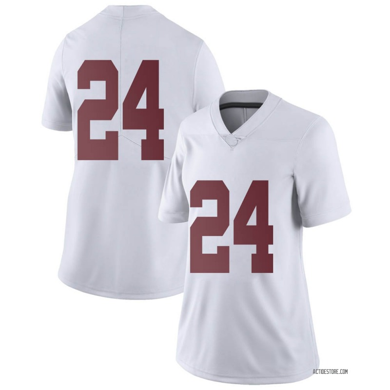 Limited Women's Trey Sanders Alabama Crimson Tide White Football College Jersey
