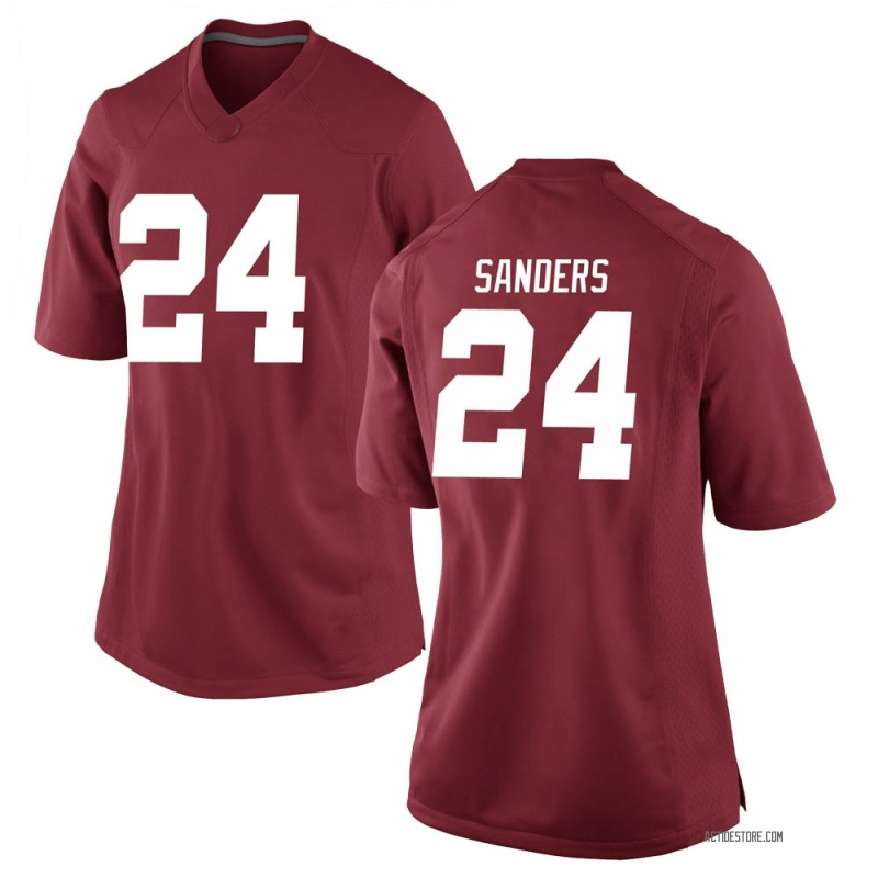 Replica Women's Trey Sanders Alabama Crimson Tide Crimson Football College Jersey