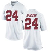 Replica Women's Trey Sanders Alabama Crimson Tide White Football College Jersey